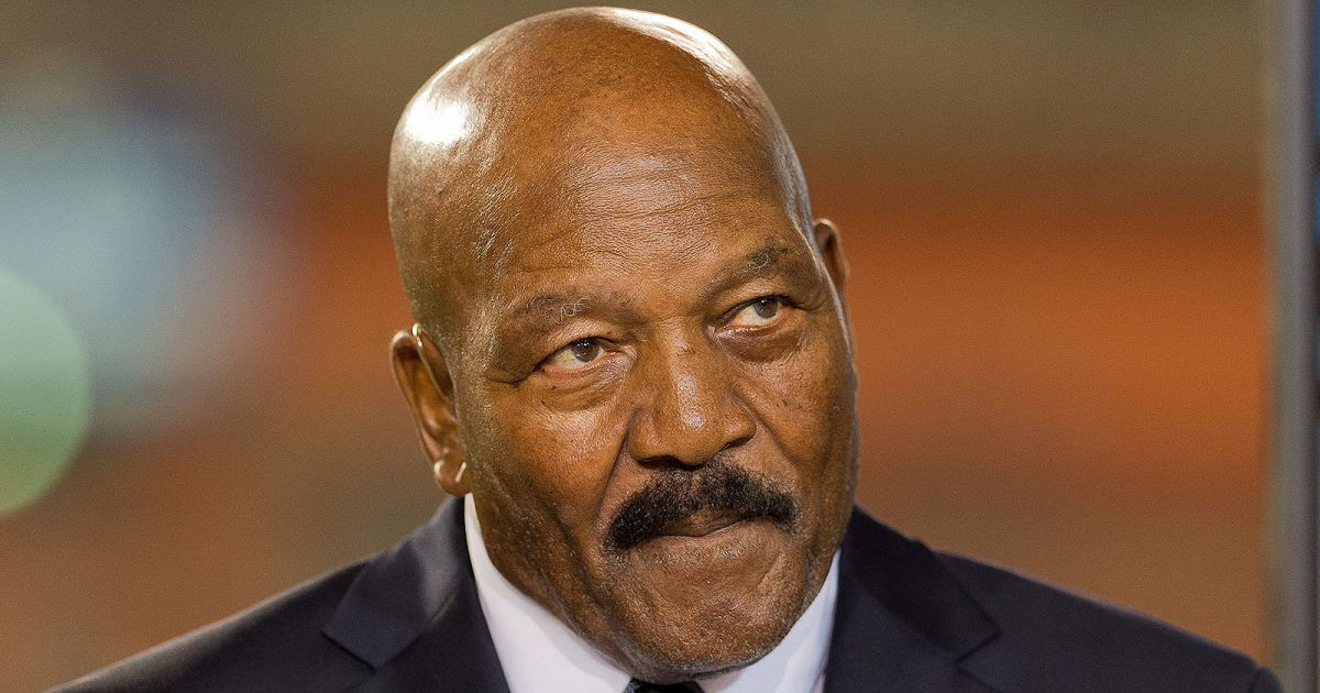 NFL Legend Jim Brown At The White House: 'That Flag Is My ...