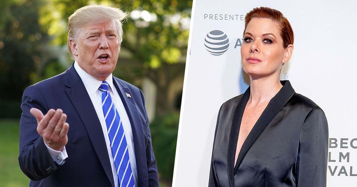 Trump Drops New Nickname On Debra Messing After She Tries To