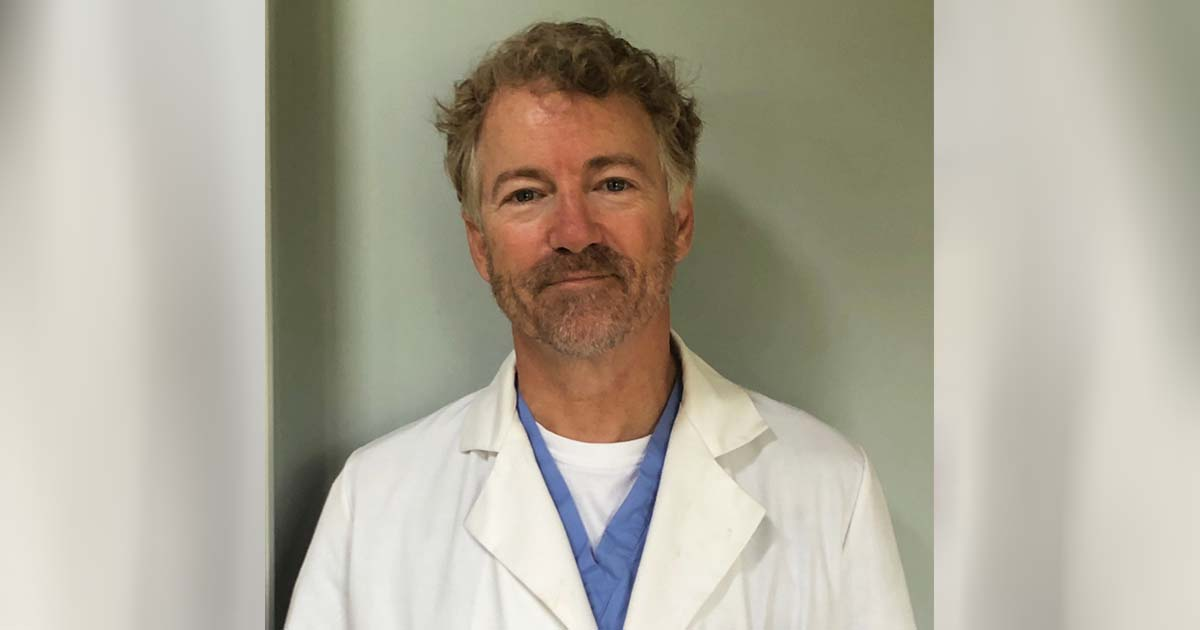 Sen. Rand Paul Recovers from Coronavirus — and Now He's Volunteering at a Kentucky Hospital