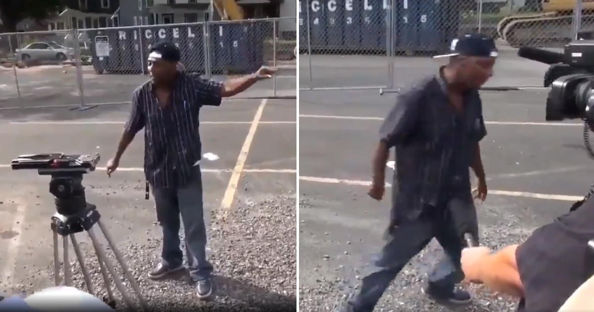 BLM Scolds 8-Year-Old Atlanta VIDEO: VIRAL Man After