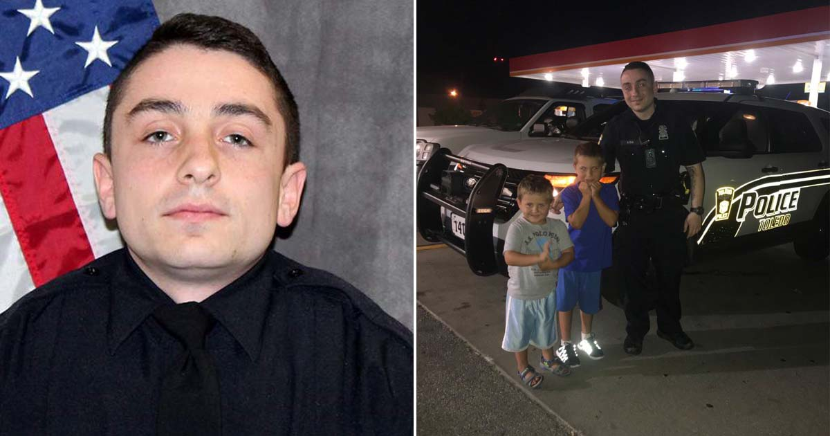 Toledo Police Officer's Heartbreaking Last Words to Dispatcher: 'Tell My Family I Love Them'